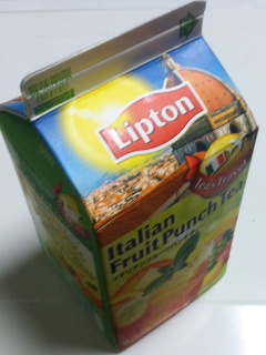 リプトン イタリアンフルーツパンチティー